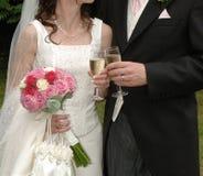 Die Hochzeit Stockfotografie