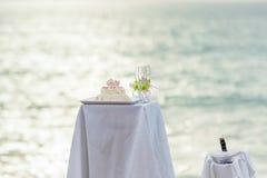 Die Hochzeit Stockbild