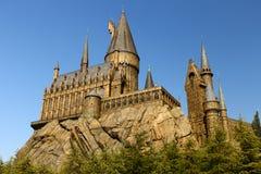 Die Hogwarts-Schule von Harry Potter Lizenzfreies Stockbild