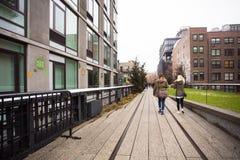 Die hohe Linie Park New York City Stockfoto