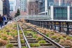 Die hohe Linie Park New York City Lizenzfreie Stockfotografie
