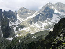 Die hohen Tatras Berge, Slowakei Lizenzfreies Stockfoto