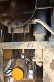 Die HolzbearbeitungWerkzeugmaschine mit einer Platte sah Lizenzfreie Stockfotos