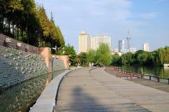 Die Holzbrücke Lizenzfreie Stockfotografie