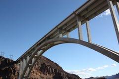 Die Hooverdammsbrücke Stockfotografie