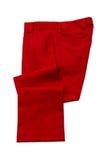 Die Hose der roten Männer lizenzfreie stockfotografie