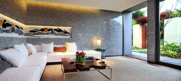 Die Hotelinnenumwelt Lizenzfreie Stockbilder