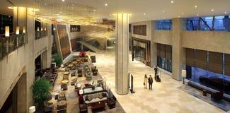 Die Hotellobby Lizenzfreie Stockbilder