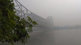Die Howrah-Brücke stockfotografie