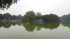 Die Huc-Brücke lizenzfreies stockbild