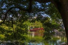Die Huc-Brücke Stockfotografie