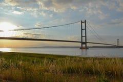 Die Humber-Brücke Lizenzfreies Stockbild