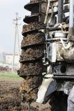 Die hydraulische Maschine Stockfotos
