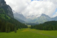 Die hypnotisierende Schweiz Stockbilder