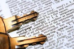 Die Hypothek Lizenzfreies Stockfoto