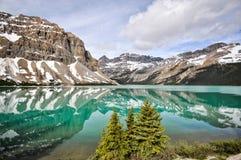 Die Icefields-Allee, Alberta, Kanada Lizenzfreie Stockfotografie