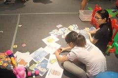 Die Identifizierung des Bildwettbewerbs im SHENZHEN Tai Koo Shing Commercial Center Lizenzfreies Stockbild