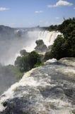 Die Iguaçu-Wasserfälle Stockbild