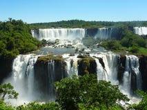 Die Iguaçu-Wasserfälle. Lizenzfreie Stockfotografie