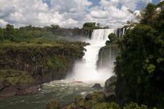 Die Iguaçu-Wasserfälle Stockfotos