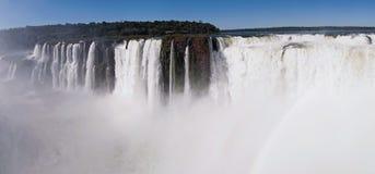 Die Iguaçu-Wasserfälle Lizenzfreies Stockbild