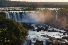 Die Iguaçu-Wasserfälle (Brasilien) Stockfotos