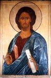 Die Ikone von Jesus Christ Stockbilder