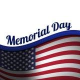 Die Illustration auf Memorial Day Stockfotografie