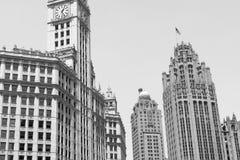 Die im Stadtzentrum gelegenen Skyline Lizenzfreies Stockfoto