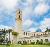 Die Immaculata-Kirche der Universität von San Diego Lizenzfreie Stockfotos