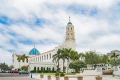Die Immaculata-Kirche der Universität von San Diego stockbild