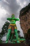 Die indische Gottheit Hanuman lizenzfreies stockfoto