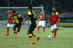 Die indonesische Nationalmannschaft U-19 lizenzfreie stockfotografie