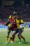 Die indonesische Nationalmannschaft U-19 lizenzfreies stockfoto