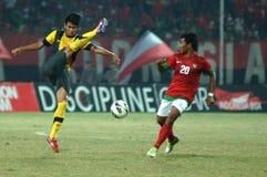 Die indonesische Nationalmannschaft U-19 lizenzfreies stockbild