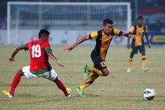 Die indonesische Nationalmannschaft U-19 lizenzfreie stockfotos