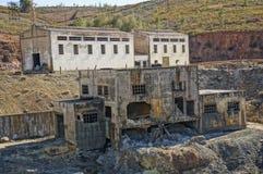 Die industrielle Grube von Spanien stockfoto