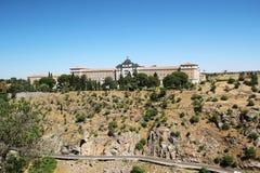 Die Infanterie-Akademie, Toledo, Spanien lizenzfreie stockfotos