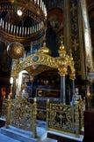 Die Innenausstattung von ` s St. Vladimir Kathedrale in Kiew stockbilder