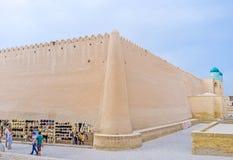 Die innere Festung stockbild