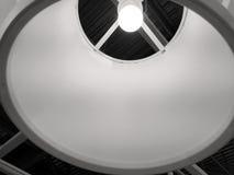 Die innere Seite einer Lampe stockbild