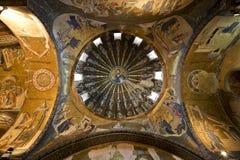 Die inneren Narthex Mosaiken in Chora Stockfoto
