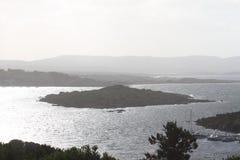 Die Insel Stockfotografie