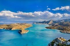 Die Insel der gelebten Todesfälle Stockbild