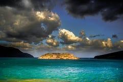 Die Insel des Aussätzigen Stockbilder