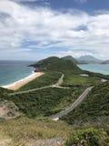Die Insel des Heiligen Kitts Lizenzfreies Stockbild