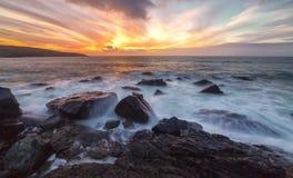 Die Insel, St. Ives stockbild