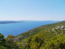 Die Insel Ugljan im Mittelmeer Lizenzfreie Stockfotografie