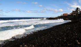 Die Insel von Fogo-Küstenlinie Lizenzfreie Stockfotografie