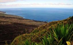 Die Insel von Fogo-Küstenlinie Lizenzfreie Stockfotos